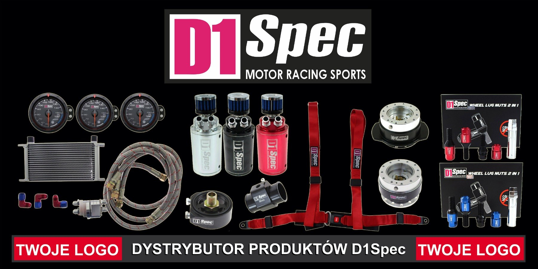 Banner D1Spec Dystrybutor - GRUBYGARAGE - Sklep Tuningowy